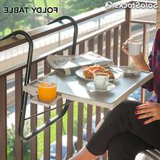 Mesa Balcon Bqdd Mesa Plegable Para Balcà N 52 X 39 Cm Foldy Table B