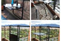 Mesa Balcon Bqdd Mesa Plegable Para Balcà N Terrazas Intemperie Desmontable