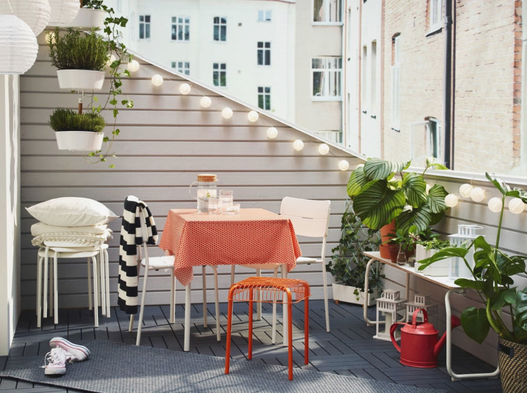Mesa Balcon Ikea E6d5 soluciones De Quita Y Pon Para Espacios Pequeà Os Ikea Ikea Mesa