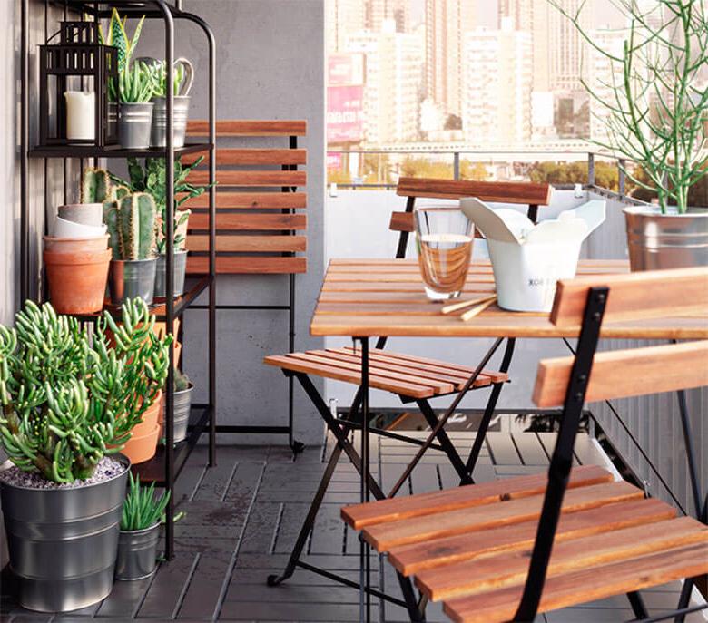 Mesa Balcon Ikea E9dx Balcones Pequeà Os Con Grandes Ideas nordic Treats