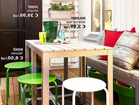 Mesa Balcon Ikea H9d9 Las Propuestas De Ikea Para Decorar Tu Balcà N Verano 2014