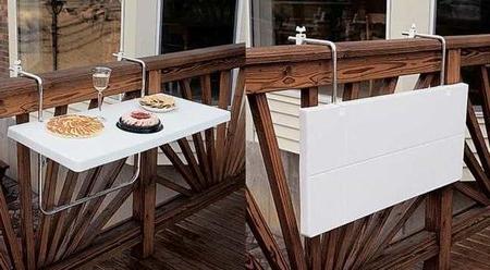 Mesa Balcon Ikea T8dj Mesa Plegable Para Colocar En Una Barandilla