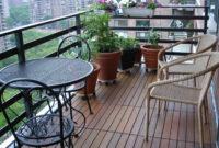 Mesa Balcon Q0d4 Jardà N Y Terraza Muebles A Medida Opciones Suelo Mesa Sillas Negras