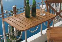 Mesa Balcon Q5df 5 Mesas Plegables Perfectas Para Balcones Pequeà Os Tiny Homes