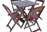Mesa Bar 3ldq Conjunto De Mesa 4 Cadeiras Para Bares E Restaurantes