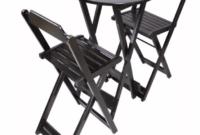 Mesa Bar 9fdy Jogo De Mesa Bar Bistrà Dobrà Vel 55cm 2 Cadeiras Altas