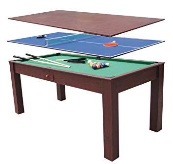 Mesa Billar Comedor Nkde Billar 3 En 1 Ping Pong Y Mesa De Edor Escritorio 1 84×91 Cm