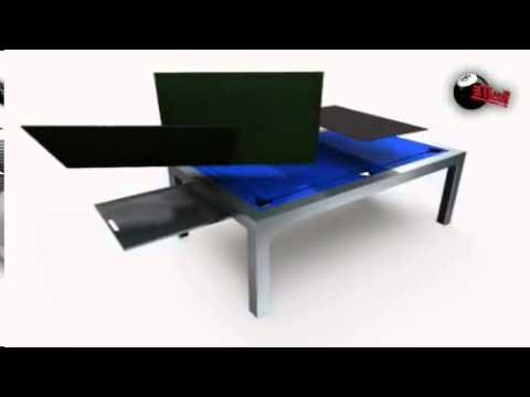 Mesa Billar Comedor Tqd3 Mesas De Billar Convertibles En Mesa De Edor Youtube