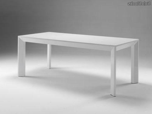 Mesa Blanca Lacada Bqdd Mesa De Edor Extensible En Madera Lacada Blanco O Negro Modelo Facile