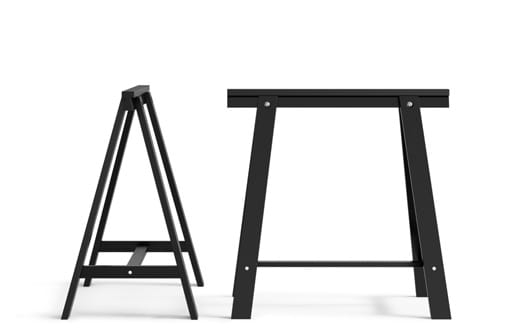 Mesa Caballete Txdf Patas Para Mesas Y Caballetes Pra Online Ikea