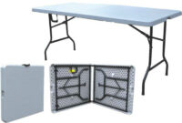 Mesa Camping Carrefour 87dx Outdoor Vintage Style Folding Table Half Fold Table 6ft Outdoor Camping Equipment Sale In Carrefour Walmart Outdoor Tables Outdoor 6ft Camping