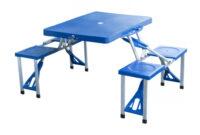 Mesa Camping Carrefour Thdr OutsunnyMesa De Camping Plegable Aluminio Con 4 Sillas Medidas 84 5 X 64 5 X 66 Cm