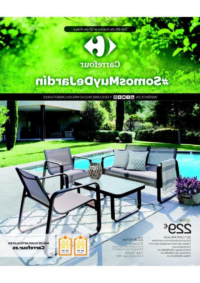 Mesa Camping Carrefour Y7du Catà Logo Carrefour Muebles De Jardà N 2020 Espaciohogar