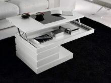 Mesa Centro Elevable Blanca Q5df Mesa De Centro Moderna Minimalista Blanca Sistema Elevable