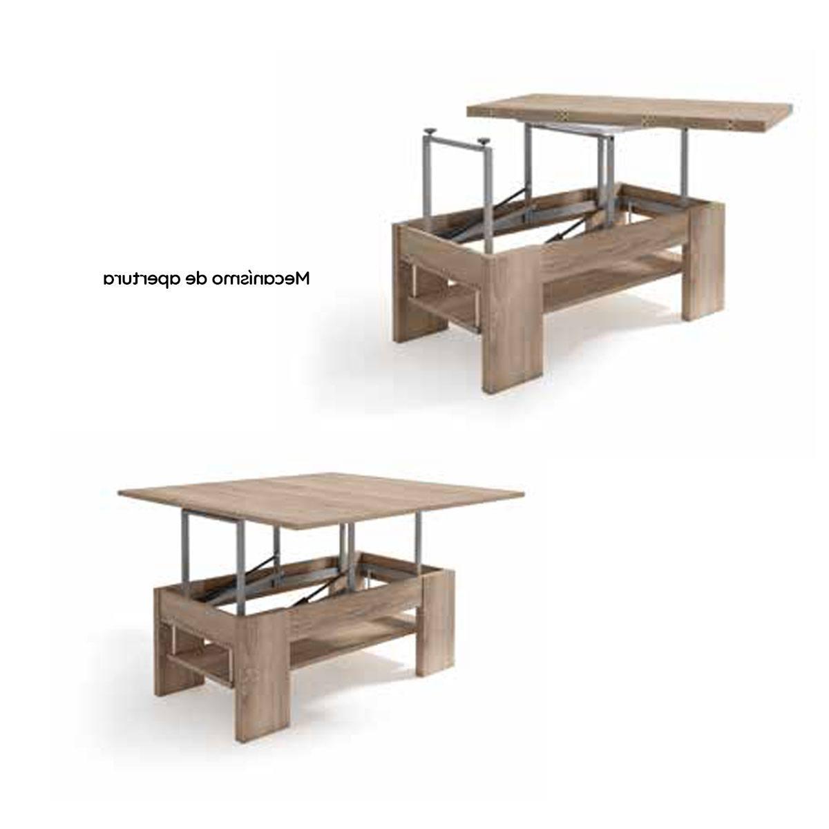 Mesa Centro Elevable Y Extensible Dwdk Mesa De Centro Elevable Y Extensible 110 100cm Prar
