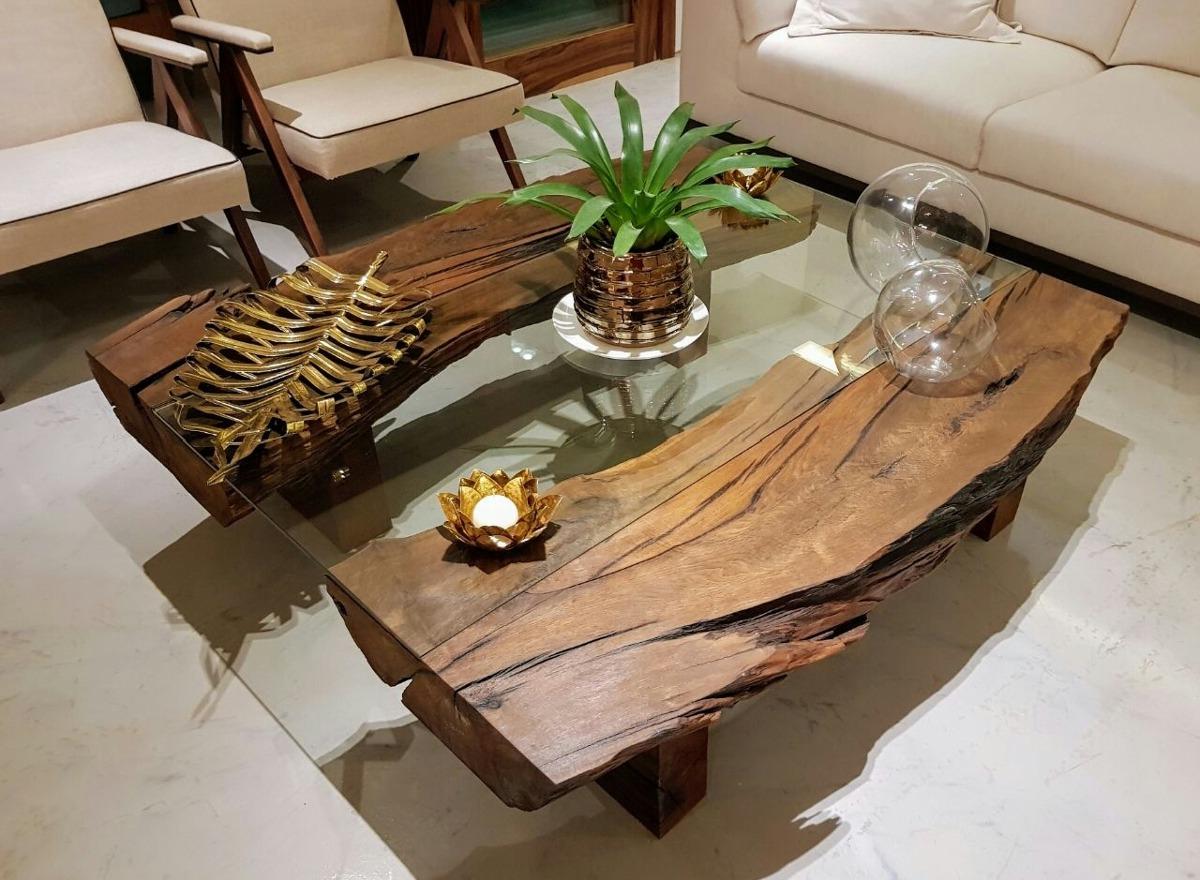 Mesa Centro Rustica Kvdd Mesa De Centro Rustica R 2 200 00 Em Mercado Livre