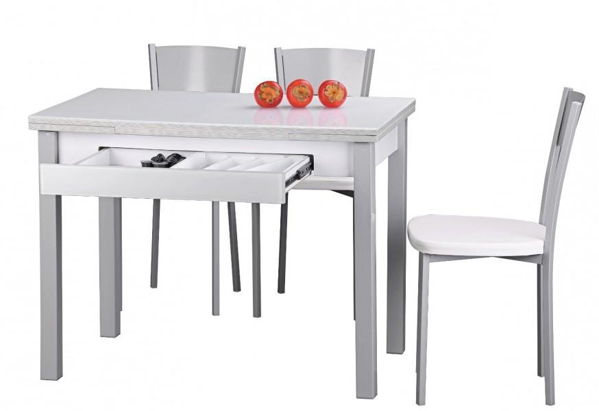 Mesa Cocina 4pde Mesa De Cocina Extensible Harmony Conforama