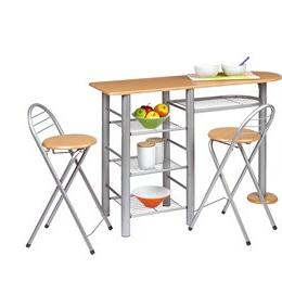 Mesa Cocina Con Taburetes Budm Conjuntos De Mesas Y Sillas De Cocina Conforama
