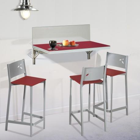 Mesa Cocina Con Taburetes H9d9 Pack Ahorro En Mesa De Cocina De Pared Con Dos Taburetes Modelo Dkg
