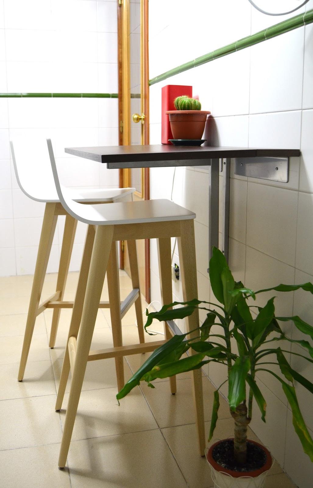 Mesa Cocina Estrecha Y7du Art Maà as Opcià N De Barra Plegable Si Tu Cocina Es Estrecha Para