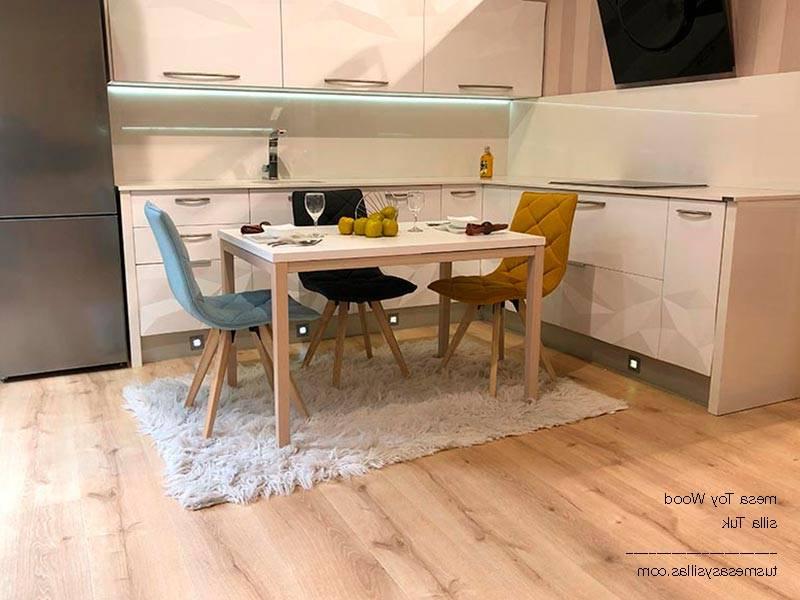 Mesa Cocina Madera S1du Mesas Extensibles Para Cocina Y Edor toy Wood De Cancio Vetas