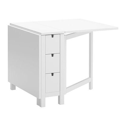 Mesa Cocina Plegable Ikea 3id6 norden Mesa Alas Abatibles Blanco 26 89 152 X 80 Cm Ikea
