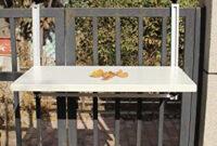 Mesa Colgante Balcon Dwdk Escritorios Haizhen Mesa Colgante Para Balcà N Mesa Plegable Para