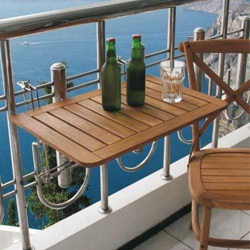 Mesa Colgante Balcon Jxdu 5 Mesas Plegables Perfectas Para Balcones Pequeà Os Tiny Homes
