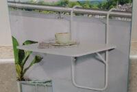 Mesa Colgante Balcon S5d8 Mesa Plegable Para Balcà N 60 X 40 Cm Prar Artà Culos Nuevos En