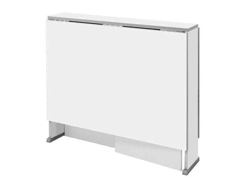 Mesa Comedor Abatible X8d1 Mesa Blanca Abatible De Apertura Automatica Modelo Corbera