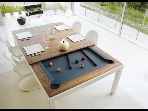 Mesa Comedor Billar U3dh Mesa De Edor Y De Pool Fusionables Youtube