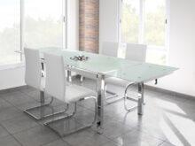 Mesa Comedor Cristal Extensible