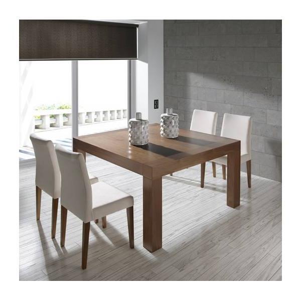 Mesa Comedor Extensible Etdg Mesa De Edor Extensible Moderna Almosa 248 Madera Y Blanca
