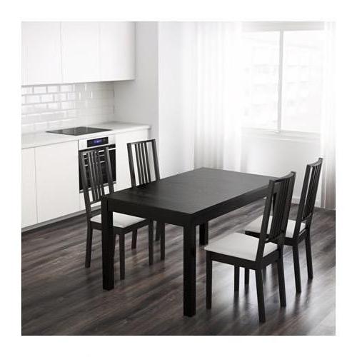 Mesa Comedor Extensible Ikea Ipdd Mesa Edor Negra Ikea Extensible De ...