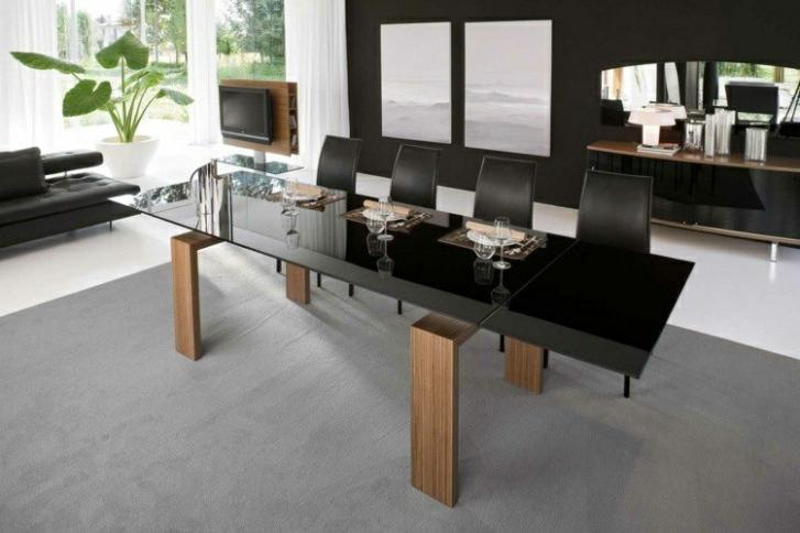 Mesa Comedor Negra Rldj Muebles De Edor De Colores Oscuros 27 Ideas Mesa Edor