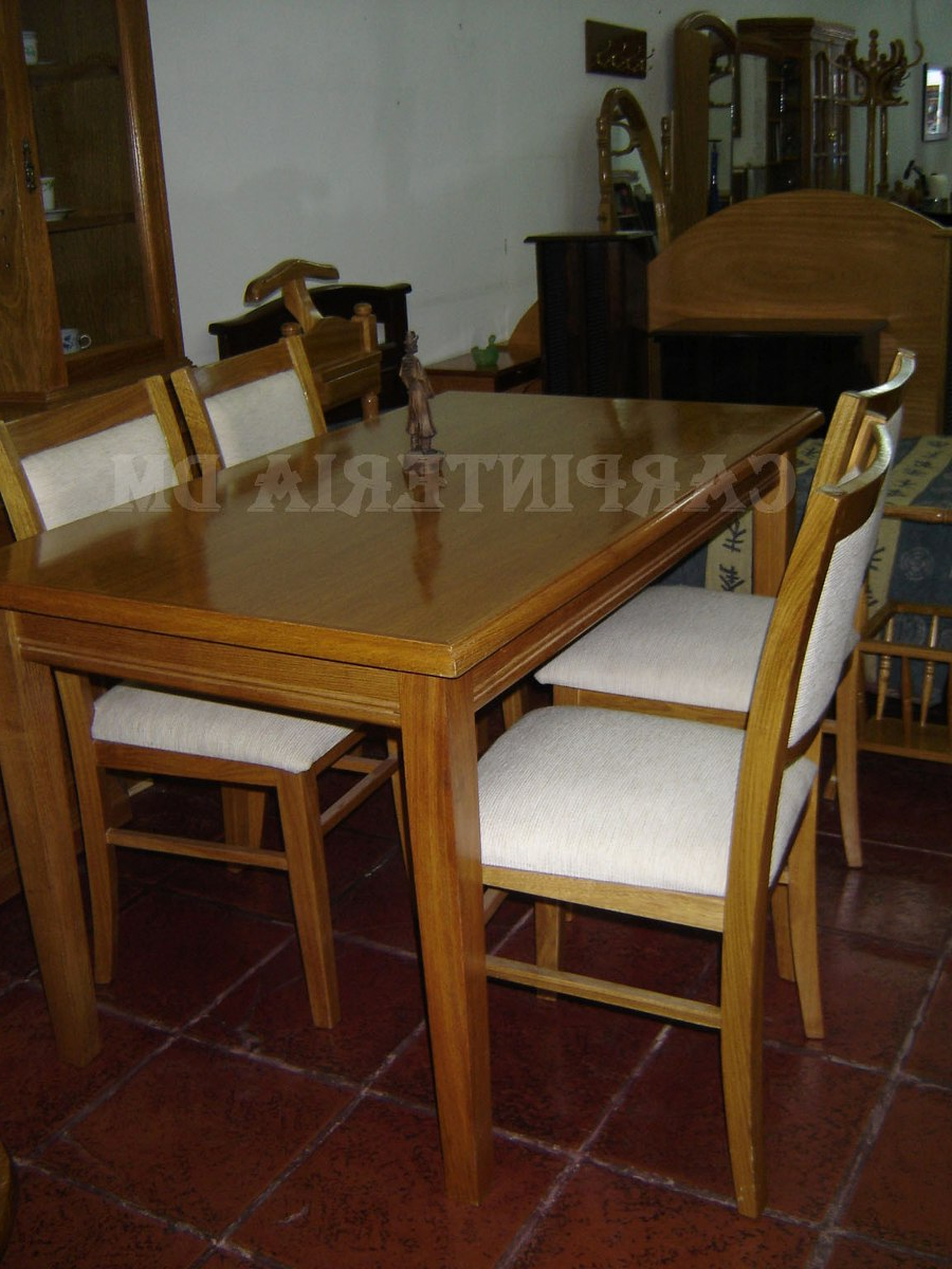 Mesa Comedor Roble Natural 3ldq Mesa Edor Madera Roble Natural 140x80cm Carpinteria Dm