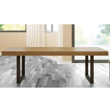 Mesa Comedor Roble Natural 8ydm Mesa Edor Extensible Rebeca Escuadra Mesa De Roble Natural