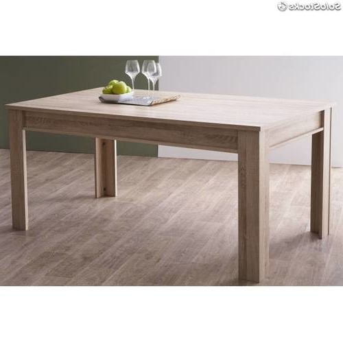 Mesa Comedor Roble Natural Budm Mesa De Edor Roble Natural