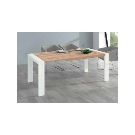 Mesa Comedor Roble Natural Gdd0 Mesa Edor Porteria Extensible M302 Roble Natural Polar