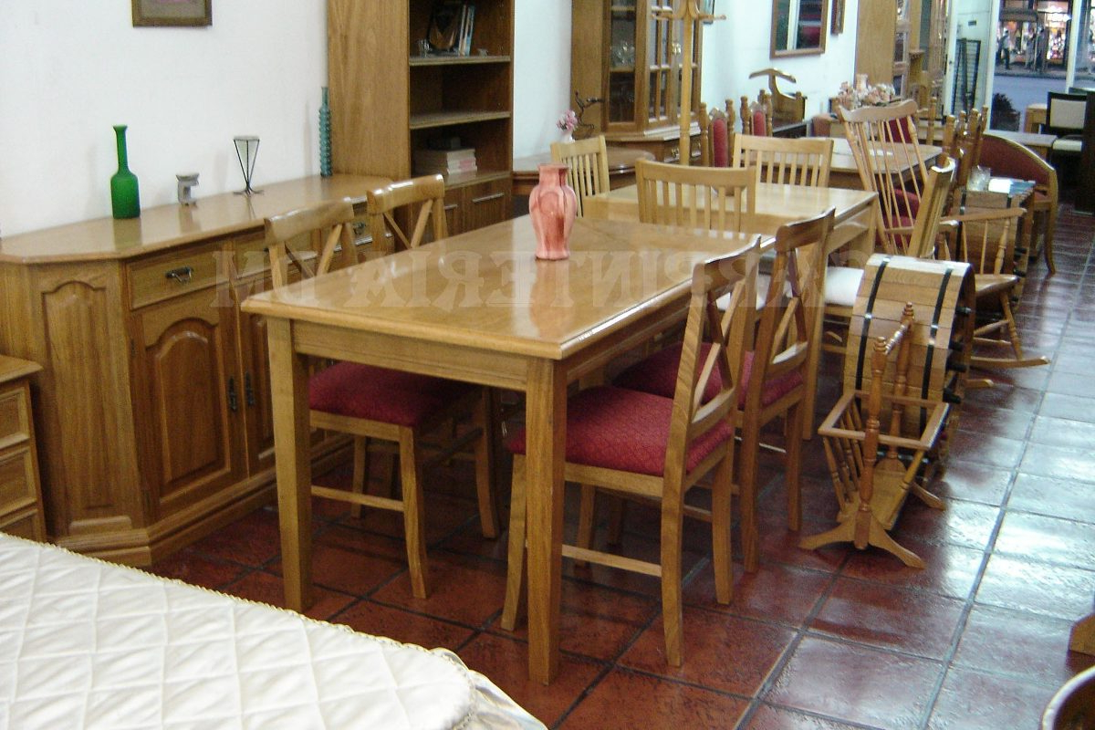 Mesa Comedor Roble Natural Y7du Mesa Edor Roble Natural 130x80cm Carpinteria Dm 18 703 32 En