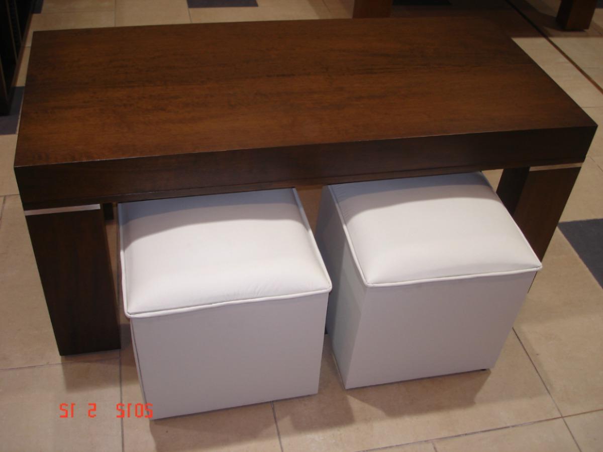 Mesa Con Puff 9fdy Mesa Ratona Tapa Elevable Con Puff 16 500 00 En Mercado Libre