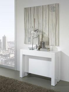 Mesa Consola Extensible Ikea S5d8 Ta Muebles Mesa Edor Extensible Blanca