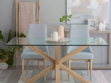 Mesa Cristal Comedor Dwdk Mesa Mesas Edor Cocina Edores Kenay Home