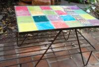 Mesa De Azulejos Para Jardin 87dx Mesa De Azulejos Mercadolimbo