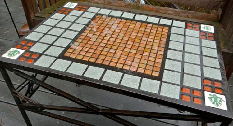 Mesa De Azulejos Para Jardin Dwdk CÃ Mo Hacer Una Mesa De Mosaico Chic