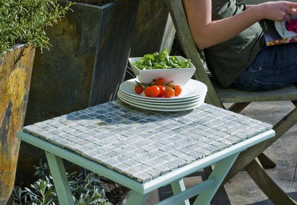 Mesa De Azulejos Para Jardin H9d9 Una Mesa De Mosaico Para El Jardà N Bricolaje Decoestilo