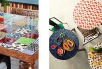 Mesa De Azulejos Para Jardin Tldn Consejos Para Diseà Ar Tu Propia Mesa Mosaico