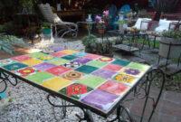 Mesa De Azulejos Para Jardin U3dh Mesa De Azulejos Mercadolimbo
