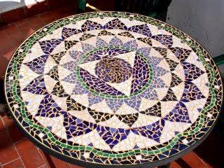 Mesa De Azulejos Para Jardin Wddj Hiper Kitsch Mesa De Jardà N De Cemento Y Azulejos
