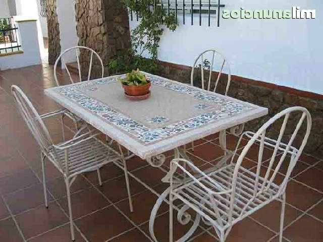 Mesa De Azulejos Para Jardin Zwd9 Mil Anuncios Anuncios De Mesa forja Mosaico Mesa forja Mosaico